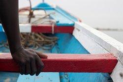 Desde el Nguel du Saloum organizamos excursiones en pirogue por los manglares del delta.