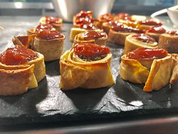 Canapés, canapés, canapés... what a perfect way to make a party one to remember!