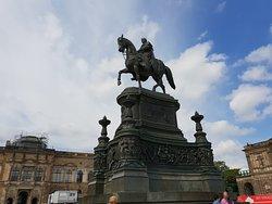 Statue of King John