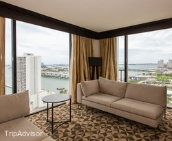 The Presidential Suite at the Hilton Miami Downtown