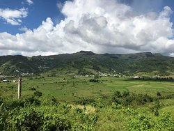 View of the south side of El Yunque.