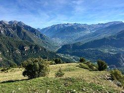 Mirador del Valle de Benasque