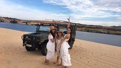 jeep to white sanddune