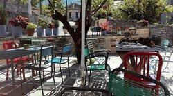 a very pleasant place to sit and enjoy some of the homemade cakes from the menu