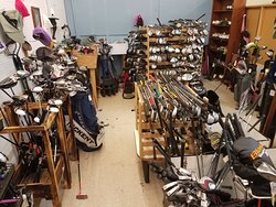 Golf Booth at Angels Antiques