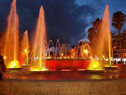 Illuminated Fountain
