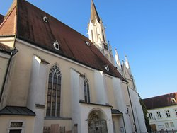 メルクの街の小さな教会