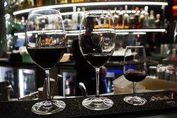 A nice flight of wine