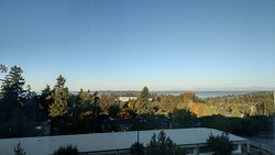 View of Puget sound from the room.