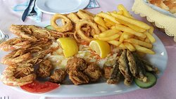 Best seafood in Olympic Beach!
