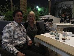 Wonderful evening/dinner at Mykonos, Doha, Qatar