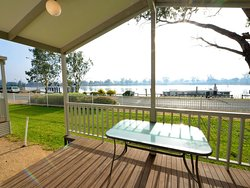 Absolute riverfront views