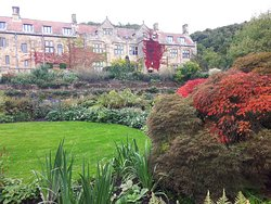 Autumnal colours starting to show at Mount Grace priory garden