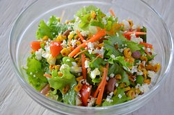 Summer vacation with  this Summer Bean Salad,..Superb