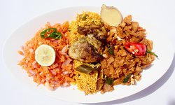 World food with exotic flavours