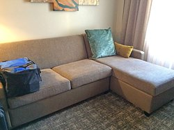 Couch/sofa bed with chaise