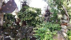 Schöner Garten und interessantes Museum