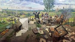 War scene representation!