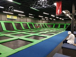 The Wairhouse Trampoline Park