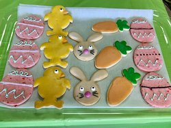 Theme and holiday cookies