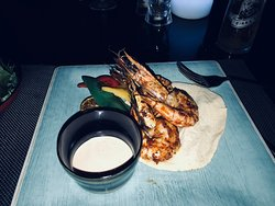 Truly amazing tiger prawns.