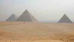 Vista panoramica das Piramides