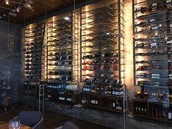 wine room at El Paraio