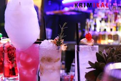 Krimikal cocktail bar