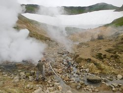 Small Valley of Geysers