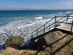 Leider ist der Strand so nicht mehr vorhanden, aber es gibt einen Zugang zum Meer.