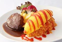 Omelette Rice Restaurant Aiglon
