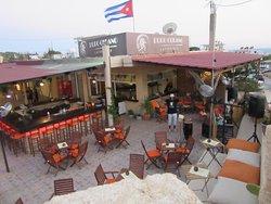 Puro Cubano Latino bar in Pefkos Rhodes. Fantastic atmosphere.