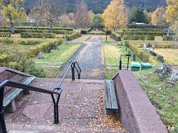 Gardens and cemetery are soo well maintained