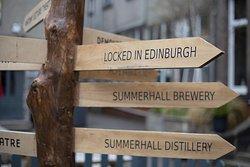 Locked in Edinburgh
