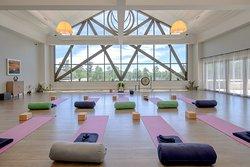 With us, practice Yoga postures like Wajrasana, Padmasana & Sukhasana to bring peace and clarity