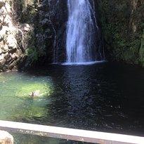 Salto Aguas Blancas Waterfall