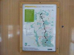 Map at station