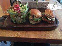 Great mini burgers