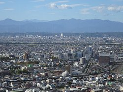 Gumma Prefectural Office Building Obserbation Deck
