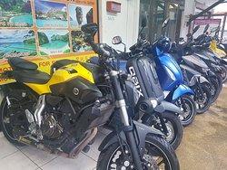 Panda Kata Motorbikes for Rent