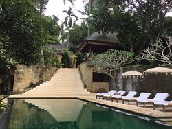 The other more secluded pool