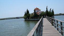 Pantanassa Orthodox Church Porto Lagos Vistonida Lake Xanthi