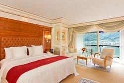 Deluxe Room at Swiss Diamond Hotel Lugano