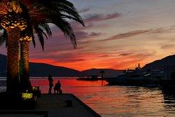 Porto Montenegro amazing sunsets