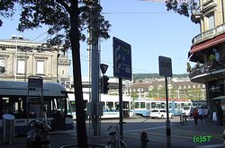 Bus and Trams at Central Station