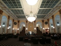 Lovely Victorian public lounge