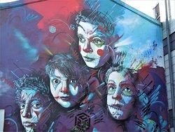 Fresque Les Enfants