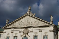 Pediment, Krasinski Palace