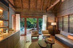 Hideaway Pool Suite Living Room