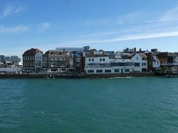 Leaving Portsmouth...the Old Port area
